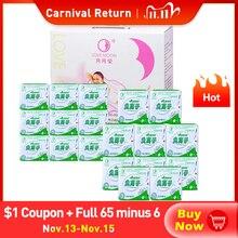19 пакет гигиенические прокладки Love Moon Anion гигиенические салфетки для Для женщин колодки прокладки менструальная пусковая площадка Lovemoon гигиена полости рта