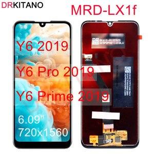 Image 3 - עבור HUAWEI Y6 2019 LCD תצוגת Y6 פרו 2019 Digitizer פנל מסך מגע עבור Huawei Y6 ראש 2019 תצוגה עם מסגרת MRD LX1f LX3