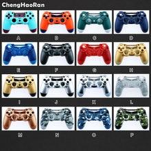 ChengHaoRan ل PS4 برو الإسكان قذيفة عودة الجبهة غطاء واقٍ مزخرف لهاتف آيفون غطاء ل PS4 برو/ضئيلة 4.0 V2 الجنرال 2th تحكم JDM 040 JDS 040