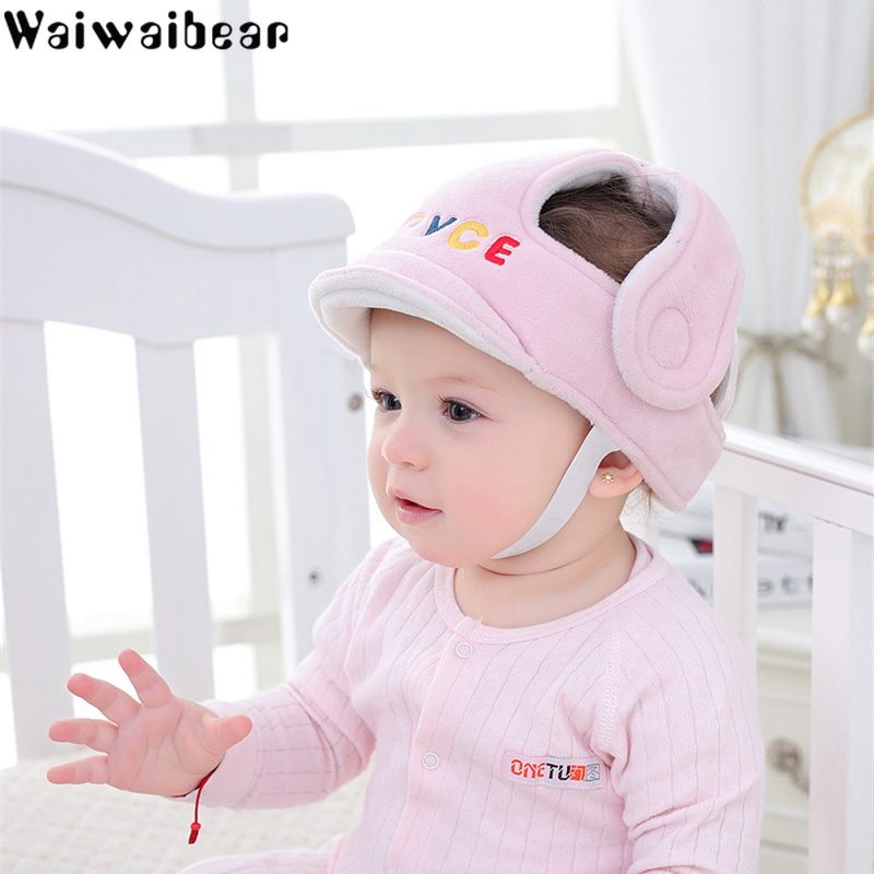 Infant Head Protection Hats Adjustable Baby Helmet  Protective Pillow  Head Protector Cushion Cap For Children Learning To Walk