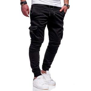 Image 3 - Men Fashion Pants Cargo Overalls Streetwear Joggers Hip Hop Sweatpants Casual Breathable Brand Trousers Male Harem Pants Casual