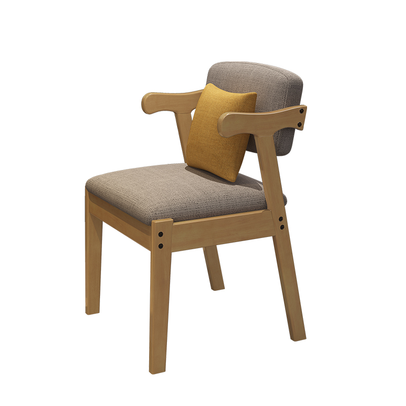 Nordic Wood Horn Chair Office Chair Leisure Chair Back Conference Chair Book Chair Dining Chair Home Dining Chair