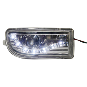 Image 3 - A pair Modified front fog lamp For Toyota Land Cruiser Fj100 Front Bumper lamp Daytime Running Light With Lens