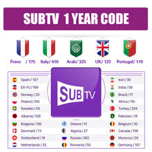 SUBTV Code 1 Year Full HD UK Canada Arabic German Dutch Poland Portugal IPTV Subscription SUBTV IPTV M3U Smart Android TV Box subtv code iptv france arabic italy canada hk1 plus android 8 1 2g 16g 2 4ghz wifi iptv france arabic italy canada subtv iptv