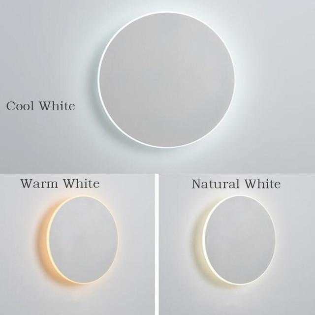 Фото 3 цвета регулируемый светодиодный настенный светильник с сенсорным цена