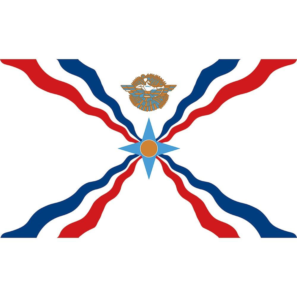 3X5 ASSYRIA FLAG NEW ASSYRIAN FLAGS BANNER SIGN F790