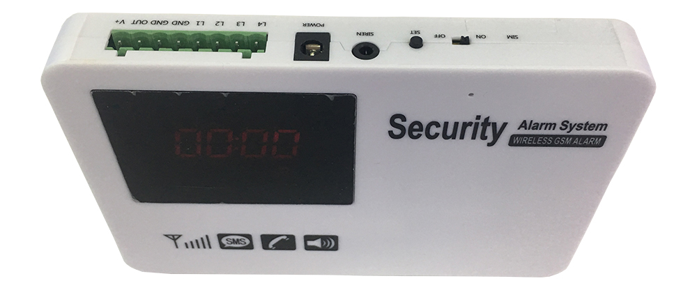 Touch Screen Wireless Home Alarm System with Motion Detector realspygadgets.com