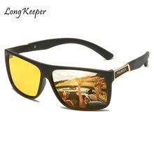 Longkeader очки ночного видения водители солнцезащитные антибликовые