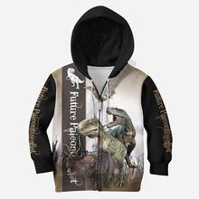 Толстовки с 3d принтом love dinosaur футболка пуловер на молнии