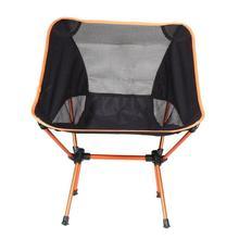 Hafif katlanır plaj sandalyesi açık taşınabilir kamp sandalyesi yürüyüş balıkçılık piknik barbekü meslek... bahçe sandalyeleri