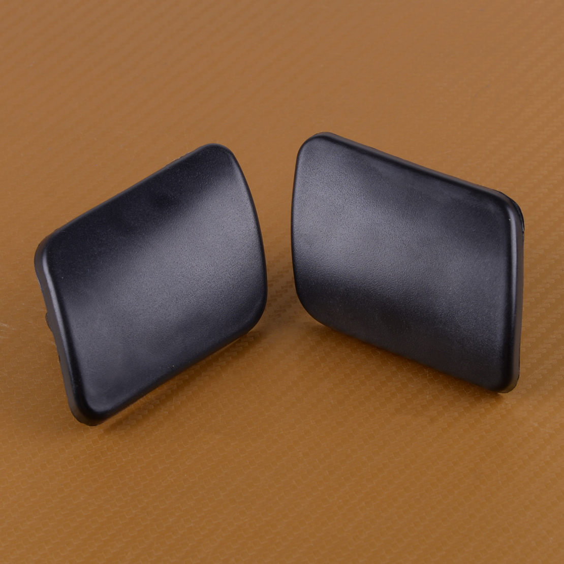 DWCX 2PCS Plastic Car Headlight Washer Nozzle Cover Cap Fit For VW Golf 4 IV Mk4 1998 1999 2000 2001 2002 2003 2004 2005 2006