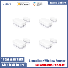 Aqara Door Window Sensor Zigbee Wireless Connection Smart Mini door sensor Work With Xiaomi sensor homekit Mi home App control