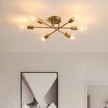 Современная люстра darhyn лампы «Спутник» полувстроенная потолочная
