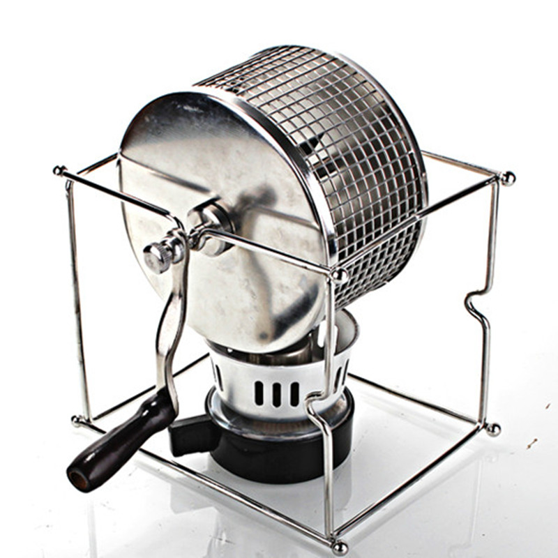 Manual Coffee Bean Roaster 304 Stainless Steel Hand Use Coffee Maker New Arrival Home newest design coffee bean roaster machine