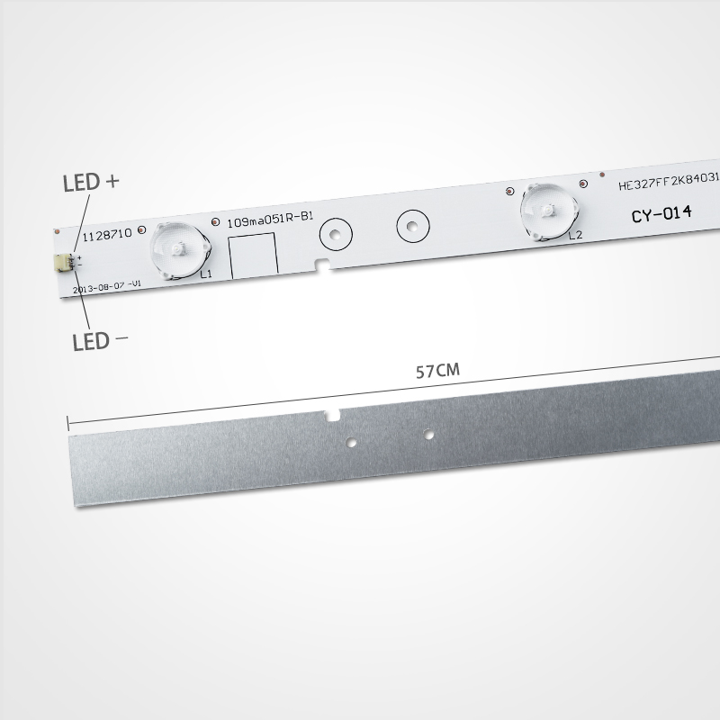 57mm LED Backlight Strip 6 Lamp For Hisense 32