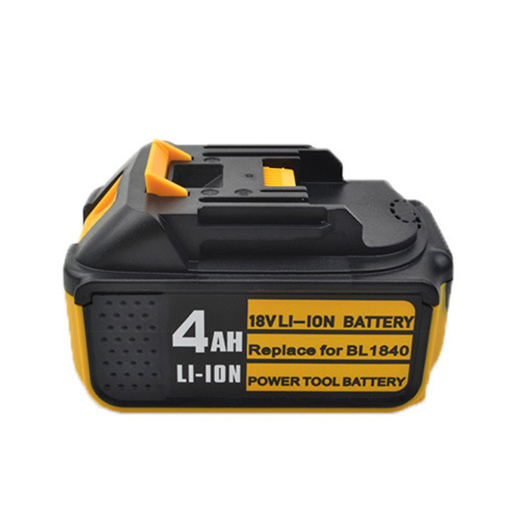 18V 3Ah 4Ah 5Ah 6Ah Li-ion Battery Rechargable Battery for Makita 18V Battery BL1840 BL1850 Power Tool with LED Indicator