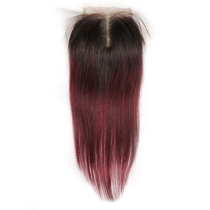Image 2 - 4*4 dantel kapatma KEMY saç 100% brezilyalı düz insan saçı ücretsiz/orta/üç bölüm İsviçre dantel kapatma sigara remy saç