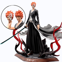 Deluxe Edition аниме отбеливатель GK Kurosaki Ichigo экшн-фигурка, 2 головки, ПВХ фигурка, модель игрушки, топ, подарок, сборные, 29 см