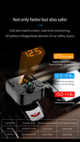 fm tf Car Charger with FM Transmitter Bluetooth 5.0 Receiver Audio MP3 Player TF Card U disk Car Kit Dual USB Car Phone  Fast Charger (4)