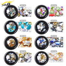Get more info on the YALIAO 1 Box Mixed Color Nail Stone Nail Art Decorations Colorful Manicure Drill Mixed Diy Gems  Rhinestones Jewelry For Nails