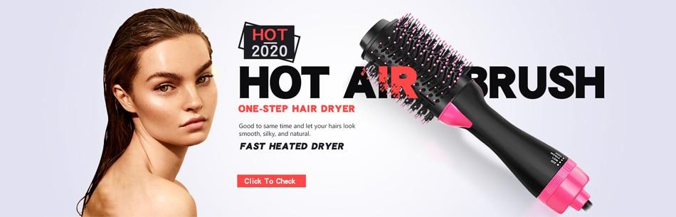 escova de ar quente escova de cabelo alisamento