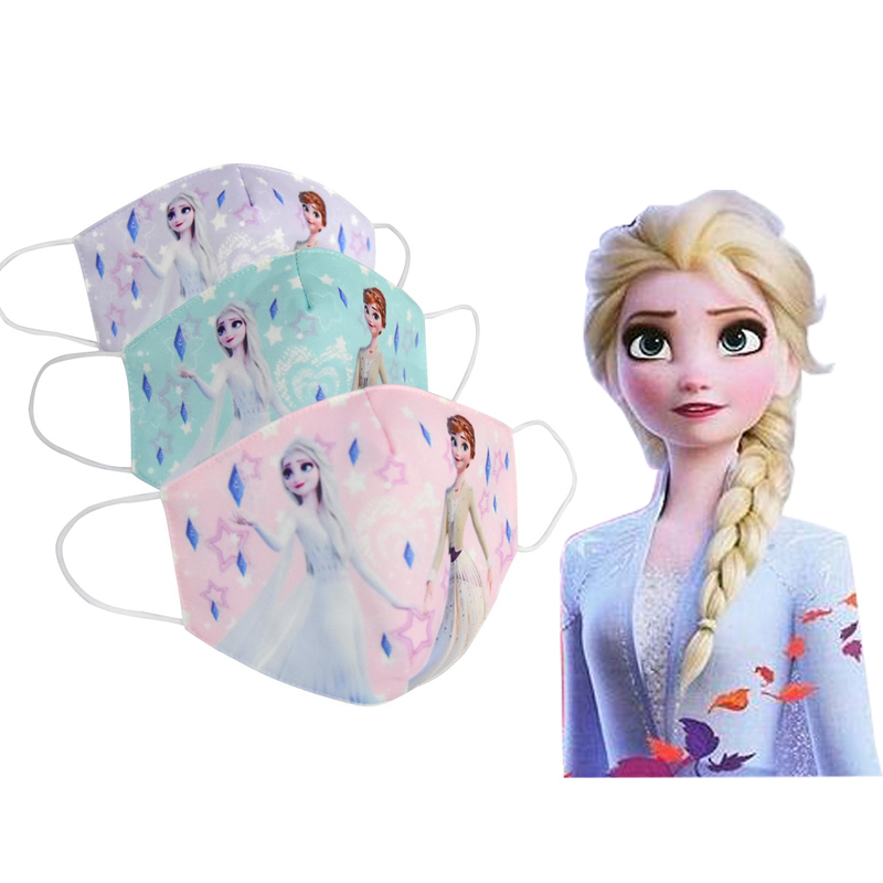 Disney Frozen Original Half Muffle Kid Face Mask Elsa Anna Kids Dustproof Anti Air Pollution Mouth Masks Mouth Kid For Gift