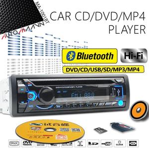Car Bluetooth CD/DVD Player Single with Slot for Nissan Honda Din Toyota Radio USB/TF Receiver IN-DASH