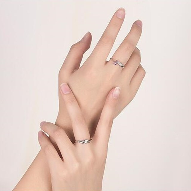 NEHZY 925 sterling silver new jewelry fashion woman opening ring anniversary wedding anniversary wedding engagement couple ring 6
