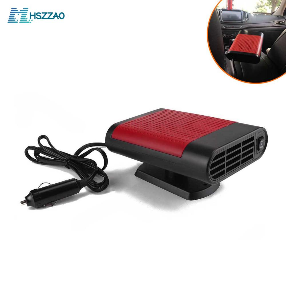 12V-24V Winter Heating Car Heater Safety Ceramic Heating Windshield Snow Defrost Fogger For car Truck Lorry