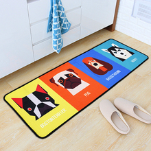 Anti-Slip Cute Printed Floor Mat Absorbent Foot Pad Bathroom Mat Home Door Mat Bedroom Bedside Strip Carpet cute cartoon bathroom mat absorbent home environmental protection flocking mat door mat bedroom anti slip rug