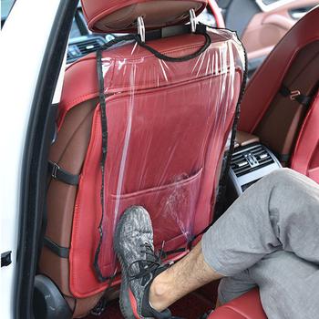 Fotelik do samochodu ochrona tyłu pokrywa dla dzieci Kick Mat błoto czysta ochrona dla dzieci chroń pokrowce na siedzenia samochodowe dla dziecka tanie i dobre opinie EAFC Cztery pory roku 58cm Pokrowce i podpory Wodoodporne 42cm Auto Seat Back Protector Cover Seat Covers Supports
