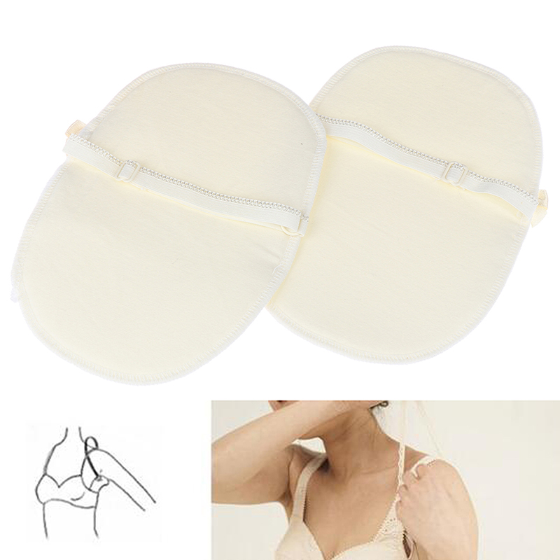 1Pair Underarm Ultrathin Absorbent Pads Summer Disposable Armpit Sweat Pad Anti Perspiration Body Cleaning Dry Pads Hot