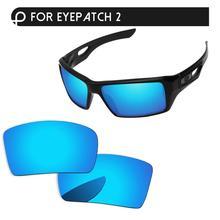 Поляризованные линзы с синим зеркалом для замены очков 1 и 2 солнцезащитные очки с защитой от UVA и UVB