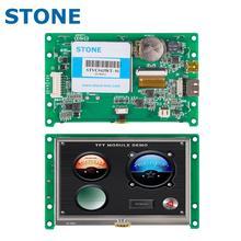 4.3 אינץ HMI צבע TFT LCD תצוגת מודול עם בקר לוח + תכנית עבור מכשיר פנל