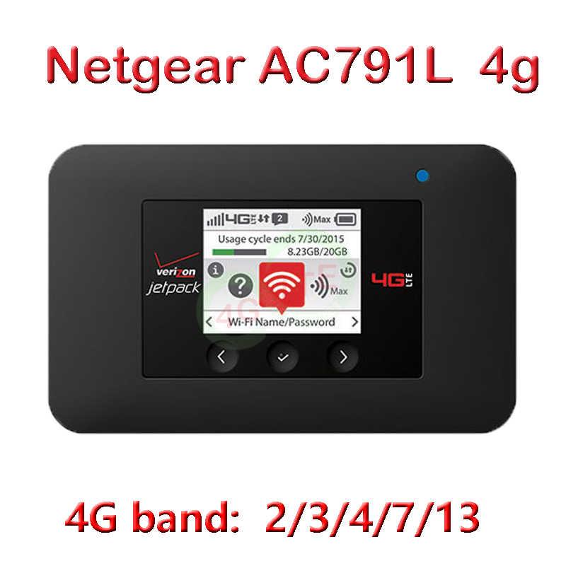 Verizon Netgear Ac791L 4G Modem Router Met Sim-kaart Hotspot 4G Wifi Wifi Pocket Dongle Aircard 791L 791 pocket Wifi 4G