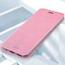 Mofi Cho Xiaomi Redmi 6 Ốp Lưng 6 Pro Ốp Lưng TPU Da Flip Cover Silicon Bảo Vệ Shockpoor Cao Cấp Dành Cho Xiaomi Redmi 6A Bao