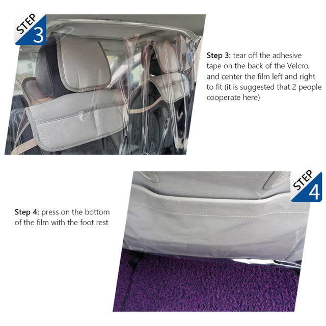 Protector de pantalla de 4x5, 9 pies Anti práctico y cómodo para ahorrar tiempo protección de energía para conductor de Taxi Uber