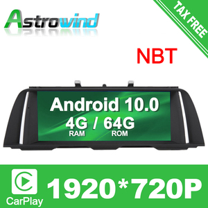 "10.25"" 8 CORE 4G RAM Android 10.0 Car GPS Navigation Media Stereo player For BMW 5 Series F10 F11 2013 2014 2015 2016 2017 NBT(China)"