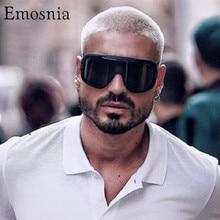 Emosnia Übergroße Polarisierte Männer Sonnenbrille Frauen Ein Stück Marke Design Winddicht Sonnenbrille Sport Schild Großen Rahmen Männlichen UV400