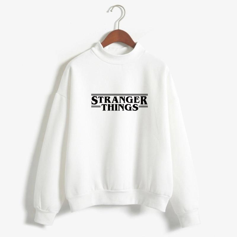 Stranger Things Official Television Series Men's Solid Logo Sweatshirt  Unisex STRANGER THINGS Hoodie - Stranger Things 29