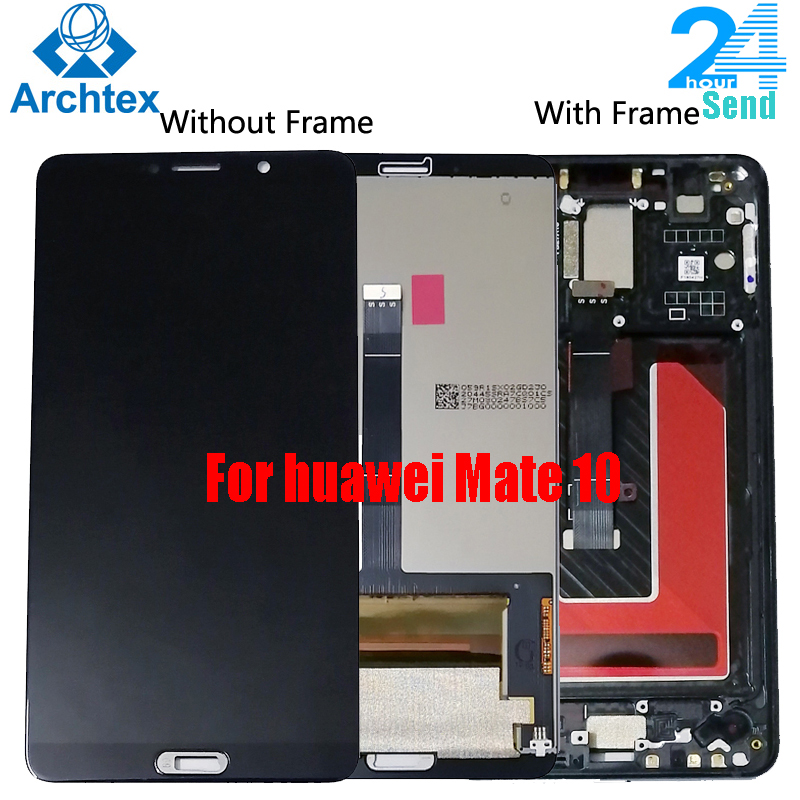 For Huawei Mate 10 LCD Display+Touch Screen Digitizer Assembly Replacement+ Frame For 5.9 Inch Huawei Mate10  ALP L09 L29