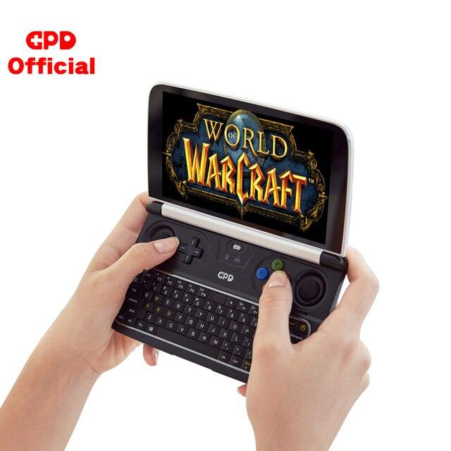 GPD WIN2 WIN 2 Windows 10 משחקי מחשב נייד מיני נייד מחשב נייד Intel Core M3 8100Y 8GB + 256GB 6 אינץ IPS מסך מגע