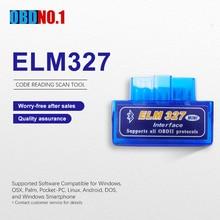 Elm327 V1.5 OBD2 сканер Диагностический автомобильный считыватель кодов Bluetooth интерфейс elm327 V1.5 автомобильный диагностический инструмент ODB2 адаптер автоматического сканирования
