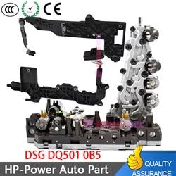 0B5 DL501 7-Скорость WD Тело клапана передачи + монтажная плата проводки Подходит для Audi A4 ALLROAD A5 Кабриолет A6 A7 Q5