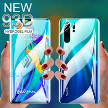 Front + Back 93D Full Screen Hydrogel Film On The For Huawei  P30 P20 Honor 20 Lite Pro Protector Film For Nova 3E 3i 5i 4E Film protective glass on the for huawei honor 20 8a 8c 8s p20 p30 lite pro tempered screen protector 93d glass on nova 5i 4e 3i film