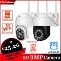 YI партии открытый IP Камера 3MP Full HD камера видеонаблюдения PTZ Камера всепогодный полный ИК Ночное видение CCTV Камера YI IOT приложений