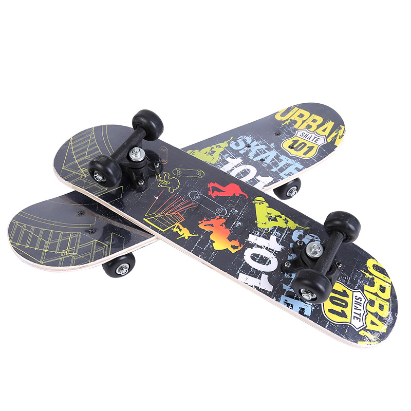 Manufacturers Direct Selling Children Four Wheel Skateboard Double Rocker Sports Supplies Children Teenager Baby Universal Scoot