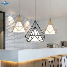 Pendant Lamp Nordic Restaurant Single head Modern Simple Subulate Retro Bar Creative LOFT Light