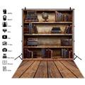 Laeacco фоны для фотосъемки в стиле ретро со старой книжной полкой и библиотекой