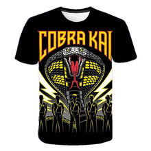 TV Series Cobra Kai 3D Printed T-shirt Men/Women Sports Casual O-Neck Streetwear T Shirts Harajuku Trendy Tops Shirts
